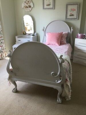 Rare And Beautiful antique single bed