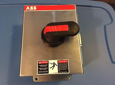 ABB Disconnect Switch 60 amp stainless NF45X-3PB6B 600v