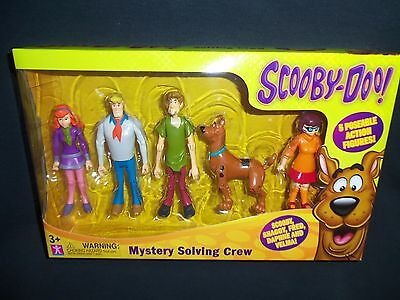 """Scooby-Doo 5 Pack Action Figure Set Shaggy, Fred, Daphne, Velma and Scooby 5"""""""