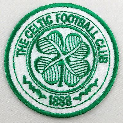 Celtic Football Club FC Scotland Soccer Patch Badge Embroidered Iron On Applique