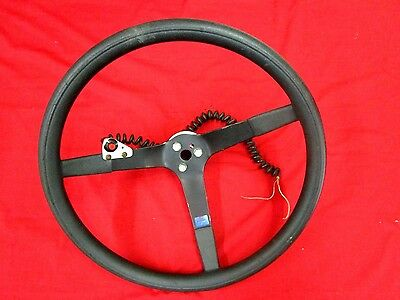 """Schroeder 16"""" Steering Wheel With Quick Disconnect,ign Kill Button,nascar"""
