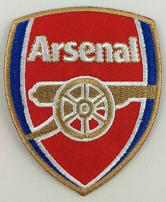 Arsenal Football Club FC Soccer Patch Badge Embroidered Iron On Applique