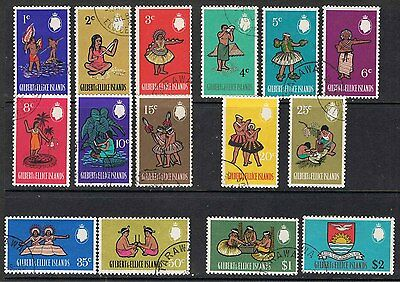 Gilbert & Ellice Islands 1968 Type Of 1965 With New Values