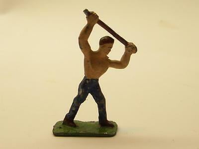 1950's American Flyer Metal Railroad Worker   Made By Eire