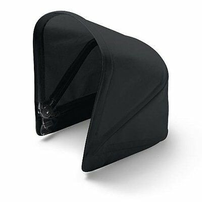 BUGABOO CAMELEON 3 BABY BASSINET CARRYCOT STROLLER Canopy Black Sun Shade Cover
