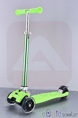 Kids Scooter Folding Deluxe Push Scooter 4 Flashing Wheel 5 Anodizing Colours
