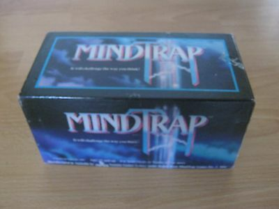 Mindtrap Game - It Will Challenge The Way You Think  - 1991 - Ventura - Complete