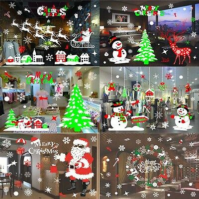 New Christmas Halloween Wall Sticker Removable Decals Home Decor Mural US Seller