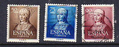 Spain 1951 Isabella the Catholic Issues