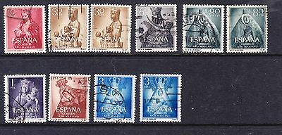 Spain 1954 Marian Year Issues