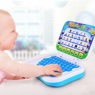 Brand New Baby Kid Toddler Educational Learning Study Toy Laptop Computer Game