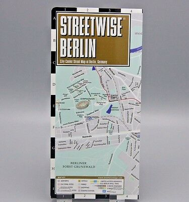 Streetwise Berlin Laminated City Centre Street Map 2014 Germany