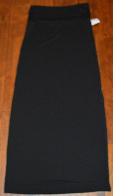 Women's Rue 21 Black Slip On Stretch Maxi Skirt Sizes XS, S, M, L, XL