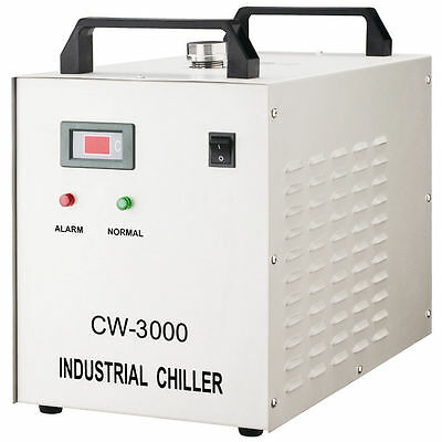 Industrial Water Chiller for CNC/ Laser Engraver Engraving Machines CW-3000 110v