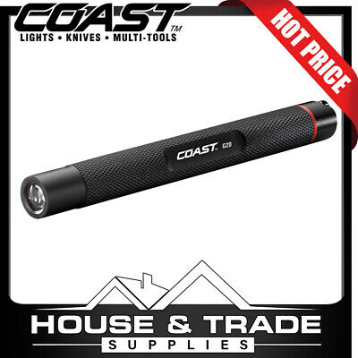 Coast LED Inspection Beam 72 Foot Range Torch Flashlight Penlight G20