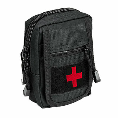 NcSTAR Compact Trauma Kit - Level 1 - Black - Used by Military and Police