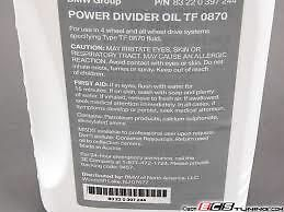 BMW Approved Genuine Transfer Case Box Oil  DTF1 TF 0870 1 Litre 83222409710