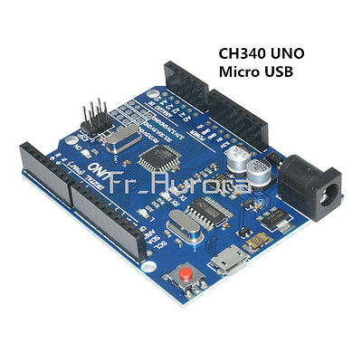 UNO R3 ATMEGA328P-16AU CH340G MICRO USB Development Board Compatible For