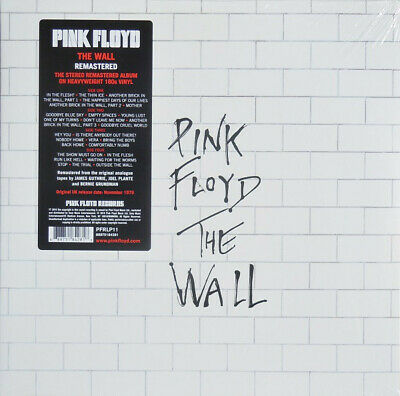Pink Floyd THE WALL PFR 2016 remastered reissue 180gm vinyl 2 LP g/f NEW/SEALED