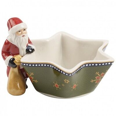 Villeroy & Boch Nostalgic Santa Tea Light Holder. Brand New in Box