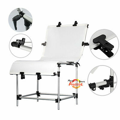Adjustable 60x130cm Photography Still Life Product Photo Shooting Display Table