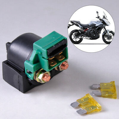 starter relay and blade fusebox assembly electric start motorcyclemotorcycle starter relay solenoid fit for kawasaki zx600 ninja 600 r 1988 1997