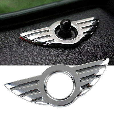 Car 3D Door Pin Badge Emblem for BMW MINI Cooper/S/ONE/Roadster/Clubman/Coupe