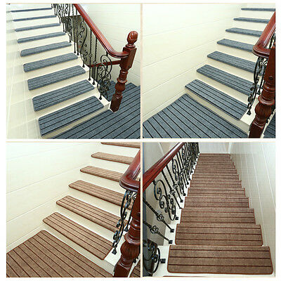 """65*24*3CM/25.59*9.45*1.18"""" Solid Wood Stair Treads Staircase Mats Stepping Pads"""
