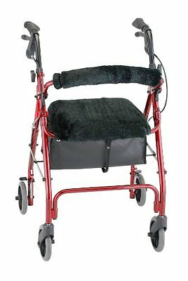 Rollator Walker Seat Back Cover Style Comfort Medical Mobility Equipment