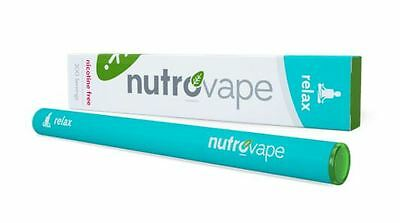 NutroVape: Inhalable Relax Nicotine Free 200 Inhalations, 1 pc