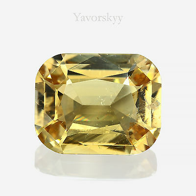Yellow Scapolite Natural Yavorskyy-cut 7.13 cts