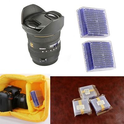 1Pc Silica Gel Desiccant Dry Box Moisture Camera Microscopes Color Changing