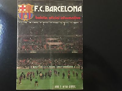 1975–76 UEFA Cup.Semifinals.Fc Barcelona v Liverpool. 1st and 2nd leg.