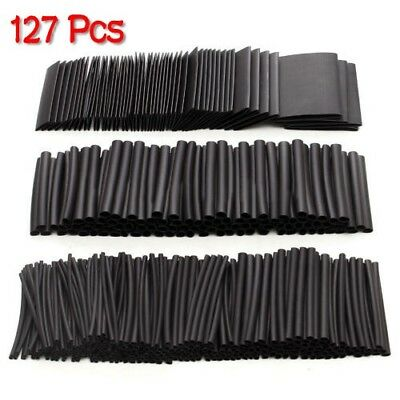 127X Heat Shrink Wire Assortment Tubing Electrical Connection Cable Sleeve #M2