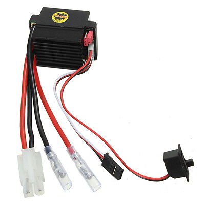 HSP 320A Brushed Motor Speed Controller ESC F. 1/10 1/12 RC Truck Car Boat