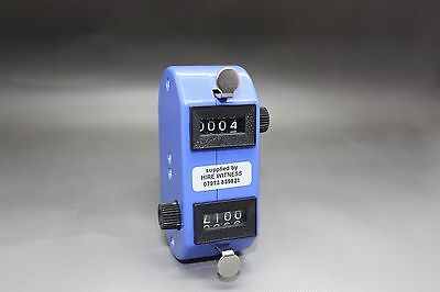 DUAL Tally Counter Hand Held Clicker
