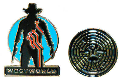 Westworld Collectible Pin 2-Pack, SDCC '17 Exclusive
