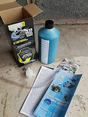 puncturesafe single bike kit - Blue