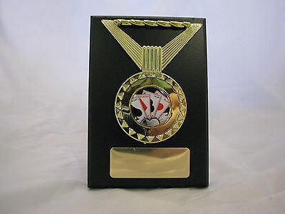Cards Poker Plaque  Trophy 115mm Engraved FREE