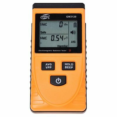 GM3120 Digital Electromagnetic Radiation Detector Meter Dosimeter Tester