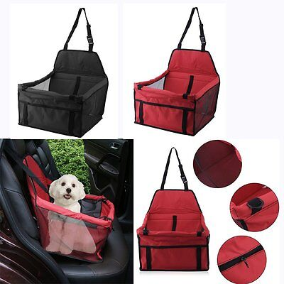 Classic Pet Car Carrier Dog Carry Storage Bag Cover Belt Pet Booster Seat Cover