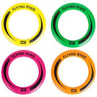 Flying Ring - Gl16 Frisbee Bright Coloured Great For Kids Or Dogs Fly Sky High