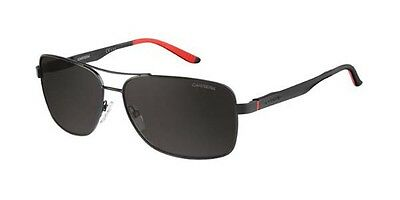 Genuine CARRERA 8014 /S Sunglasses Replacement Lenses - Grey Polarized P/Carb