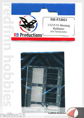 RB Productions P-51 Mustang radiators  1/32