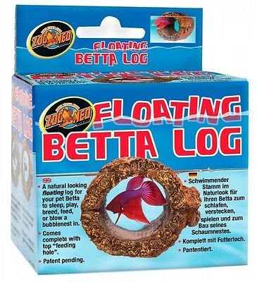 Zoo Med Floating Betta Aquatic Log Fighting Fish Aquarium Decoration