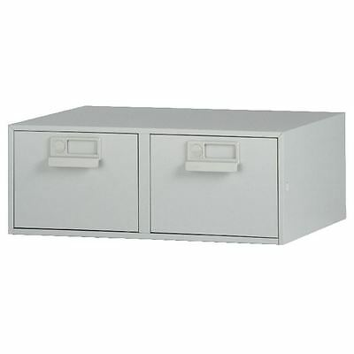 Bisley 8x5 Inches Double Grey Card Index Cabinet FCB25 [BY00442]