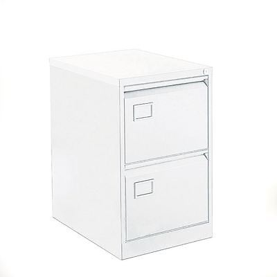 Bisley 2 Drawer Filing Cabinet Chalk White BY11584 [BY11584]