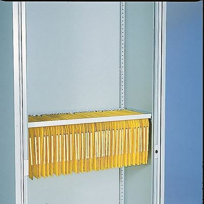 Bisley Lateral Filing Rail Grey BUR, Ideal for lateral filing  [BY01697]