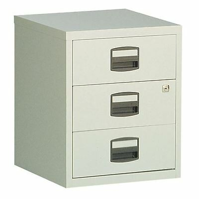Bisley A4 Mobile Home Filer 3 Drawer Grey BY13461 [BY13461]