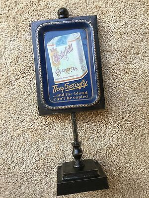 Antique vintage Chesterfield cigarettes tip tray display